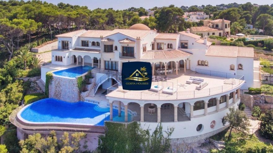 Una mansión de lujo en primera línea del mar, la nueva vivienda más cara de Alicante