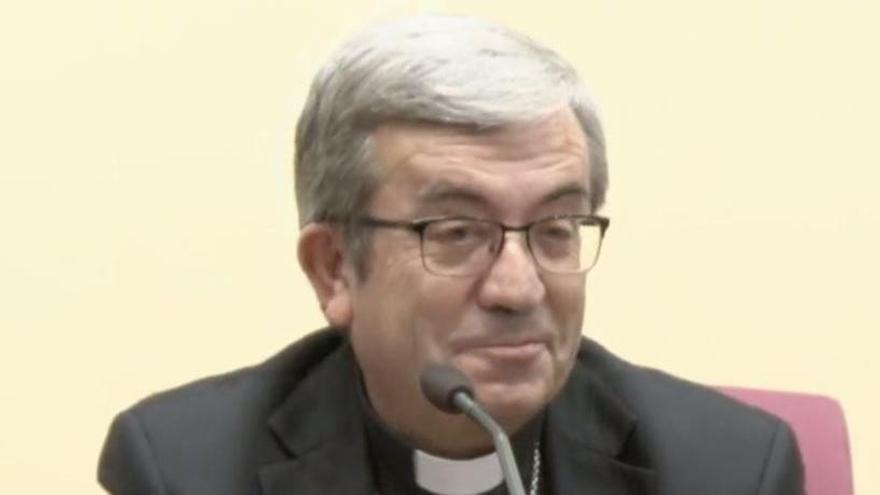 """Luis Argüello expresa la """"preocupación"""" de la Iglesia por la irrupción de Vox"""