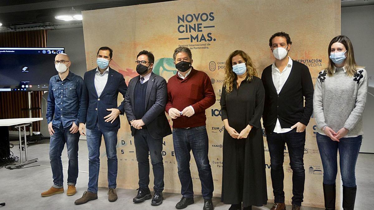 Presentación de la edición 2020 de Festival Novos Cinemas.   | // RAFA VÁZQUEZ