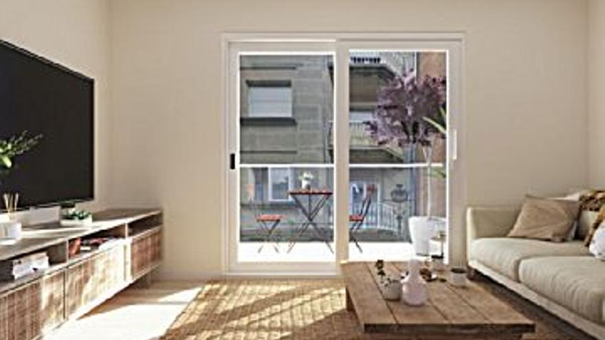 320.000 € Venta de piso en Praza España, Casablanca (Vigo) 95 m2, 3 habitaciones, 2 baños, 3.368 €/m2...