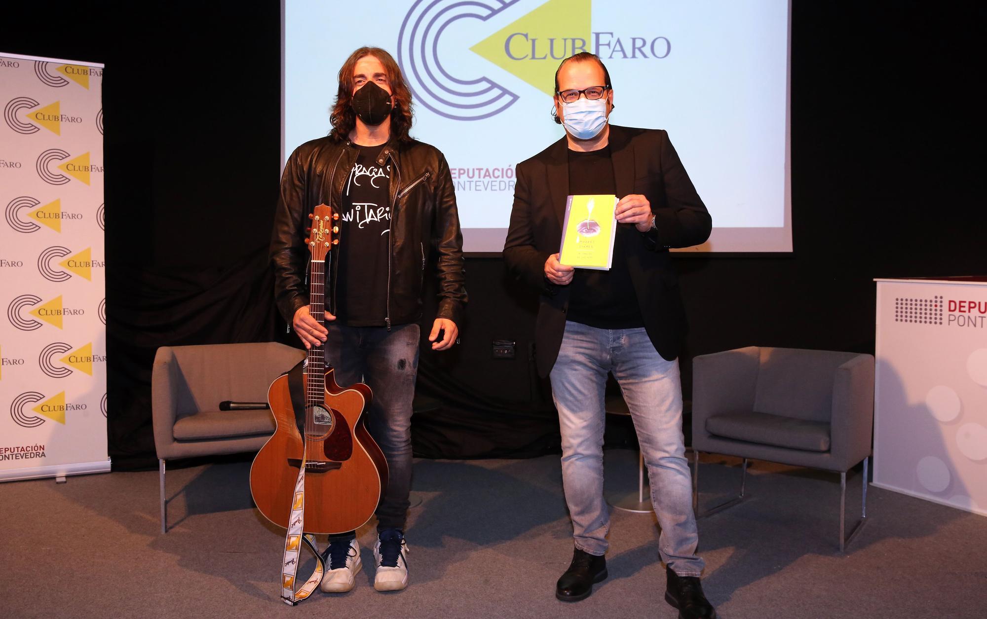 Así fue la visita del músico y compositor Andrés Suárez al Club Faro