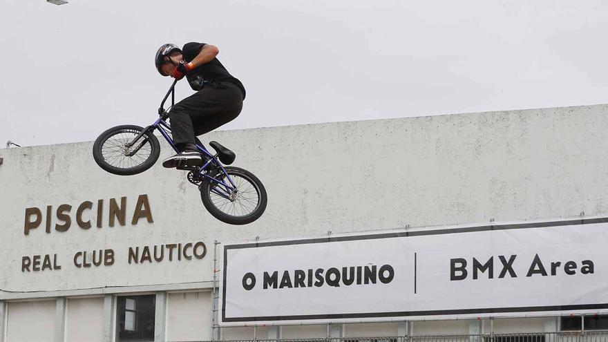 O Marisquiño: semifinales de BMX