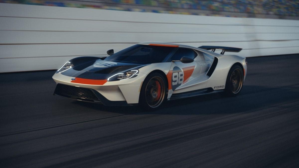 Ford rinde homenaje al GT que venció en las 24H de Daytona en 1966