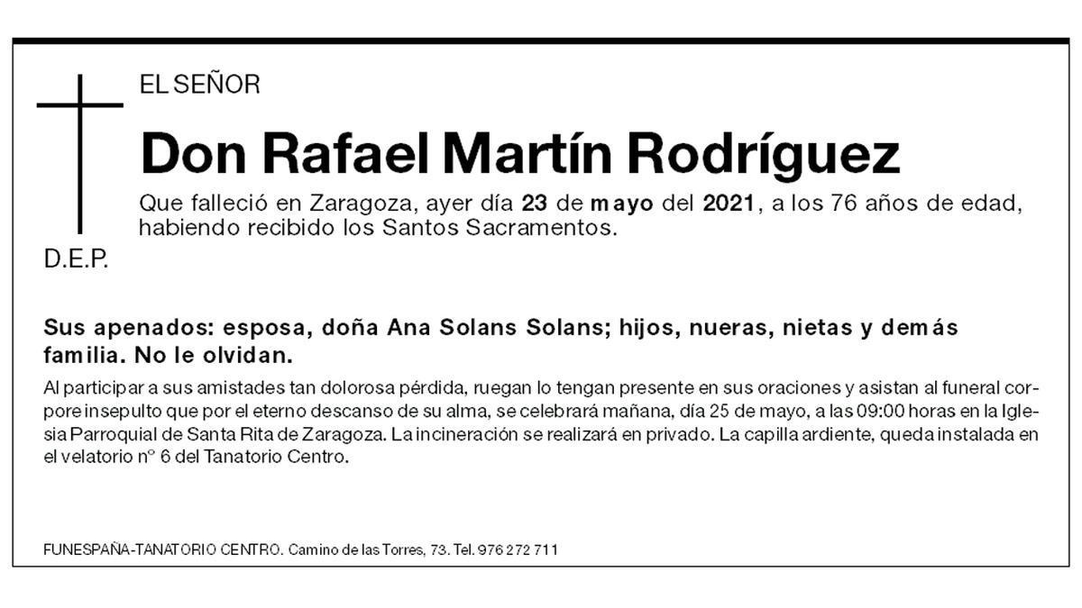 Rafael Martín Rodríguez