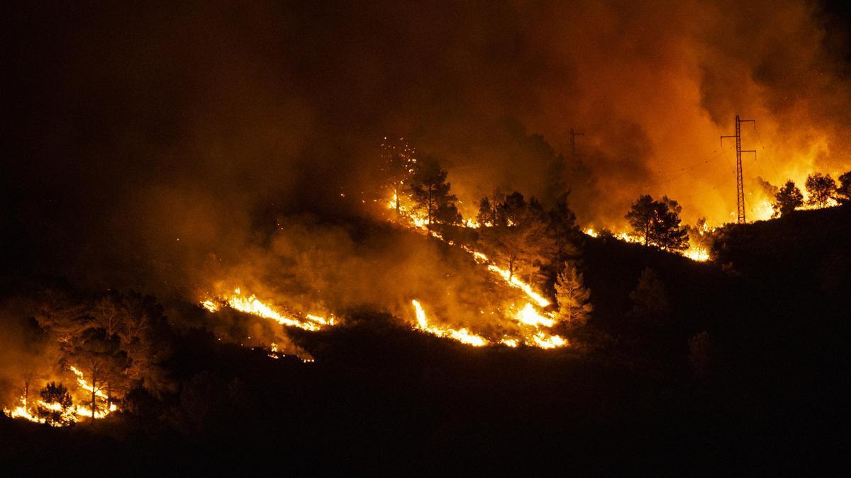Incendi al Montgrí