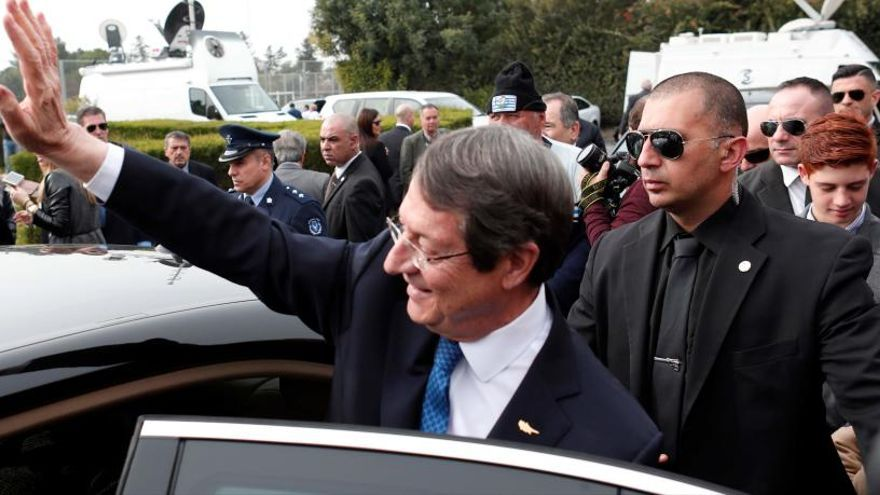 Anastasiades, reelegido presidente de Chipre