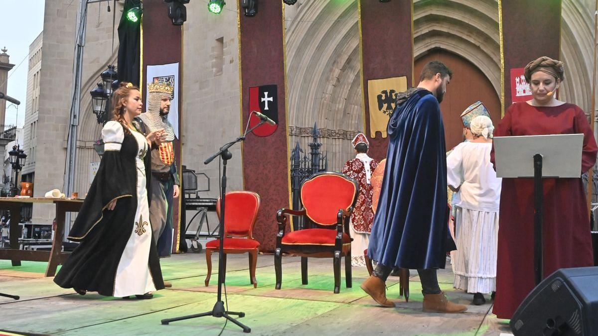 Actos celebrados este sábado en Castelló, con motivo del 770º aniversario.