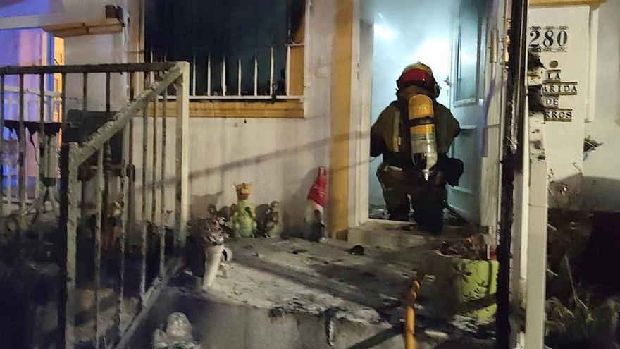 Herido grave un hombre de 70 años con quemaduras en una explosión provocada por una fuga de gas en San Fulgencio