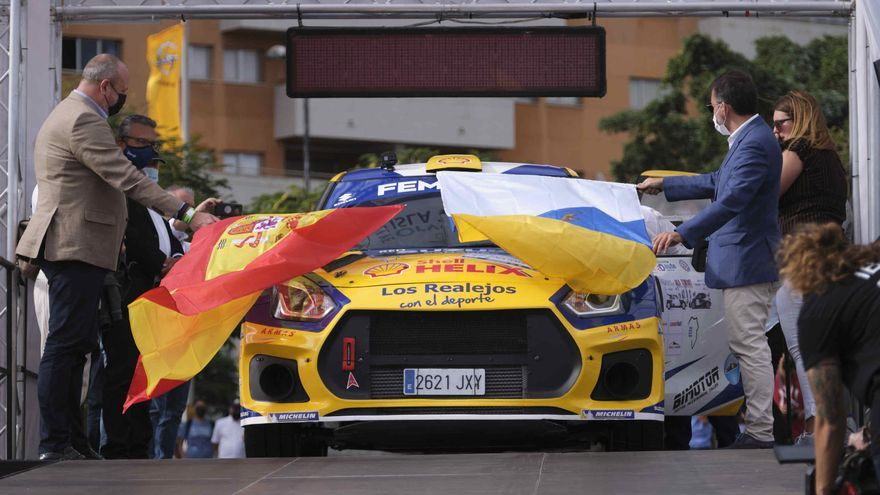 Salida Rallye Isla Tenerife