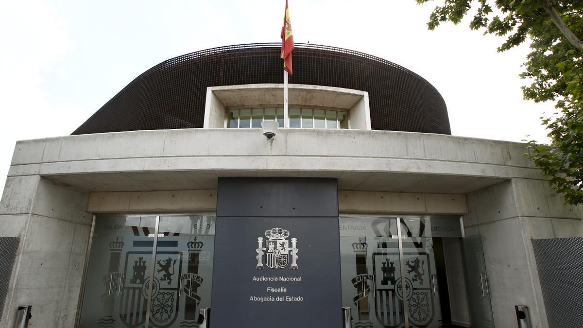 Imagen de la sede de la Audiencia Nacional.