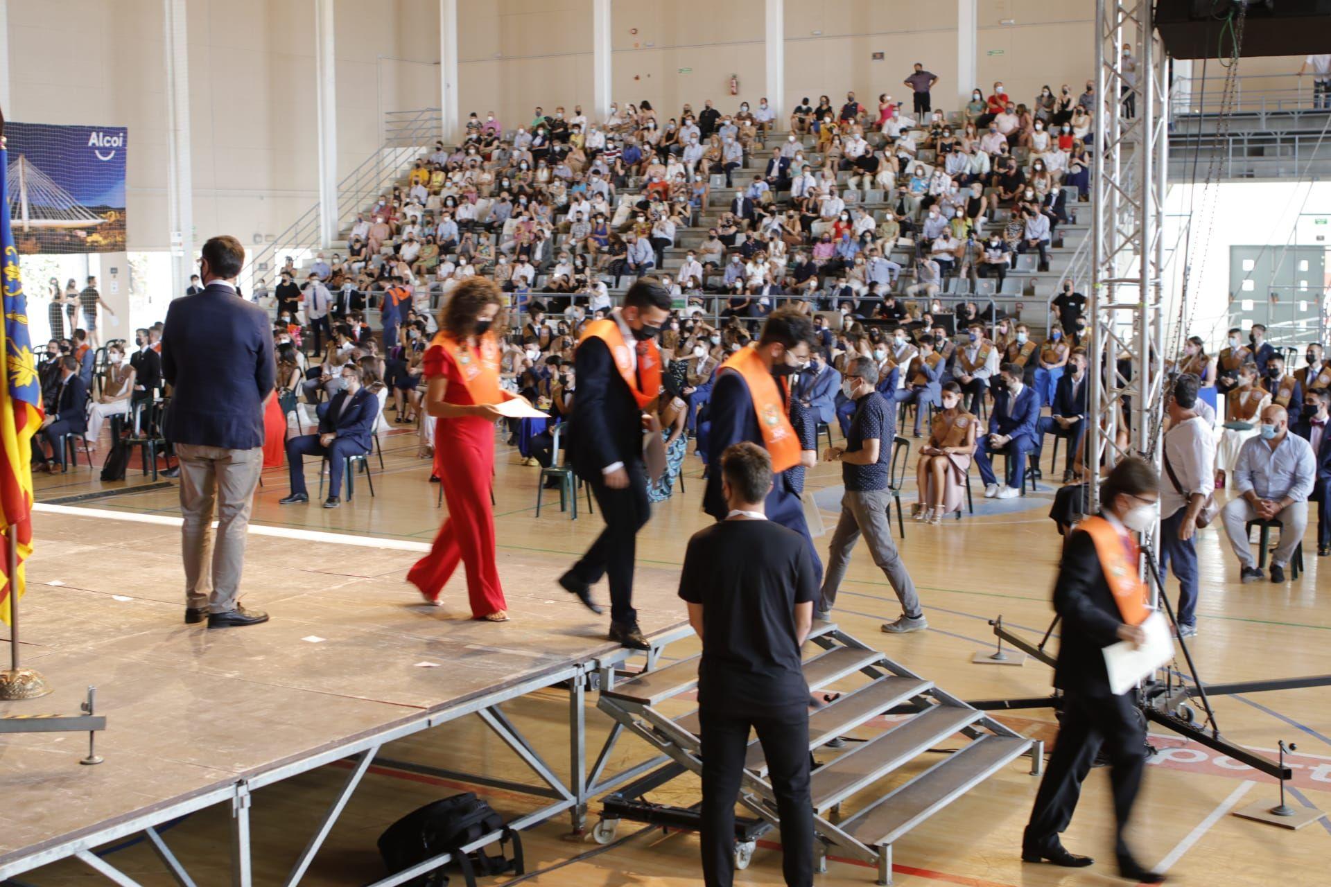 Acto de graduación del Campus de Alcoy de la UPV