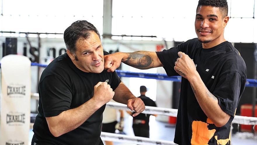 Jorge Araújo ya tiene  heredero en el boxeo vigués: José Suero