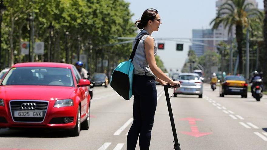 Los vehículos de movilidad personal motivan tres actuaciones de la Policía en 48 horas