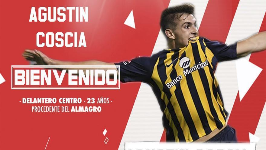 Agustín Coscia, nuevo fichaje del Zamora CF
