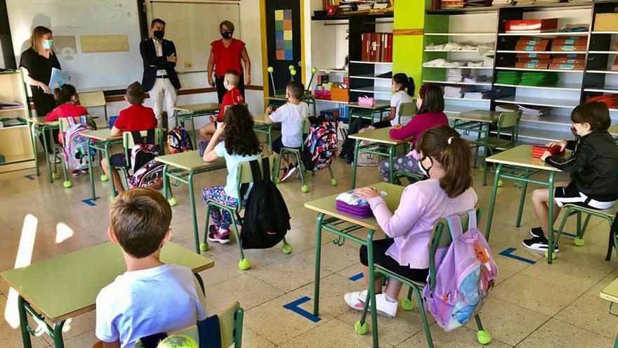 El próximo curso arrancará con 450 plazas más en infantil y presencialidad total en las aulas
