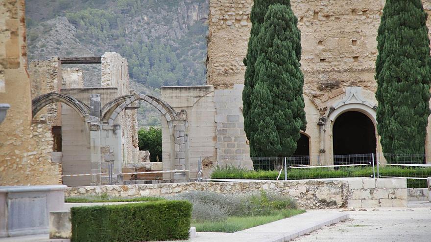 La Generalitat cierra  zonas del monasterio de la Valldigna por peligro de desprendimientos