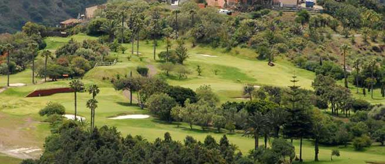 Campo de golf de Bandama, en el municipio de Santa Brígida.