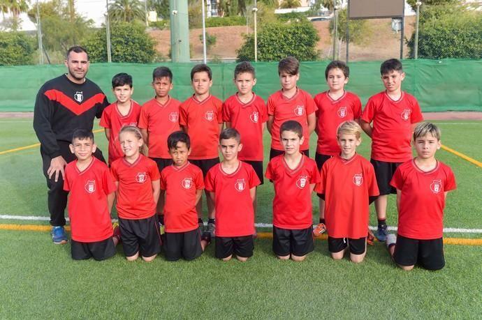 14-02-2020 LAS PALMAS DE GRAN CANARIA. Reportaje a los equipo de fútbol 8 del Union Viera    14/02/2020   Fotógrafo: Andrés Cruz