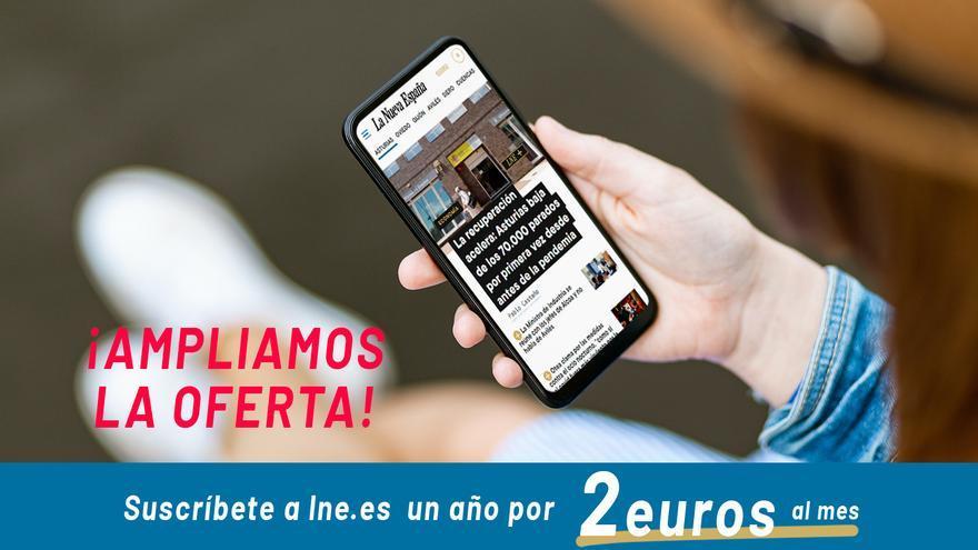 QUEDAN POCAS HORAS: aprovecha esta ocasión y suscríbete a LA NUEVA ESPAÑA por menos de 28 euros al año