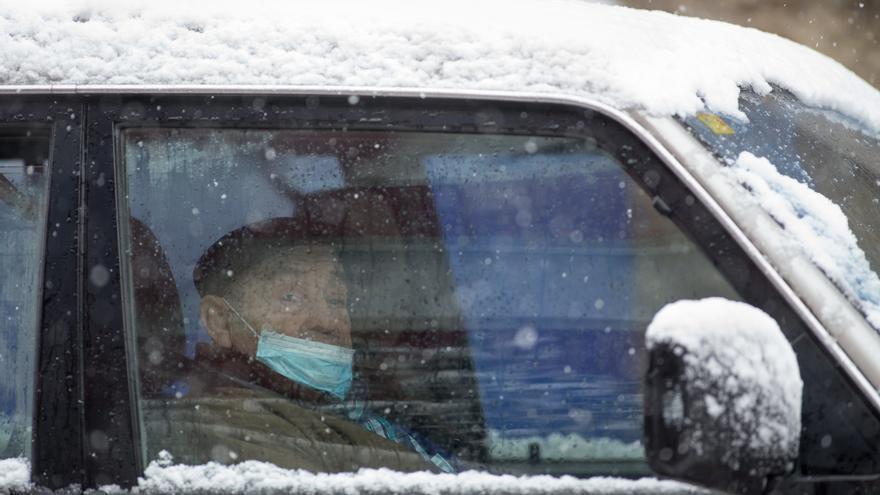 Filomena en Galicia | Medio centenar de incidentes en las carreteras gallegas debido al hielo
