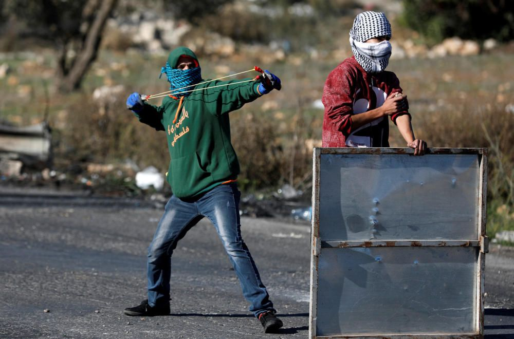 Disturbios en Gaza y Cisjordania por la decisión de EEUU sobre Jerusalén