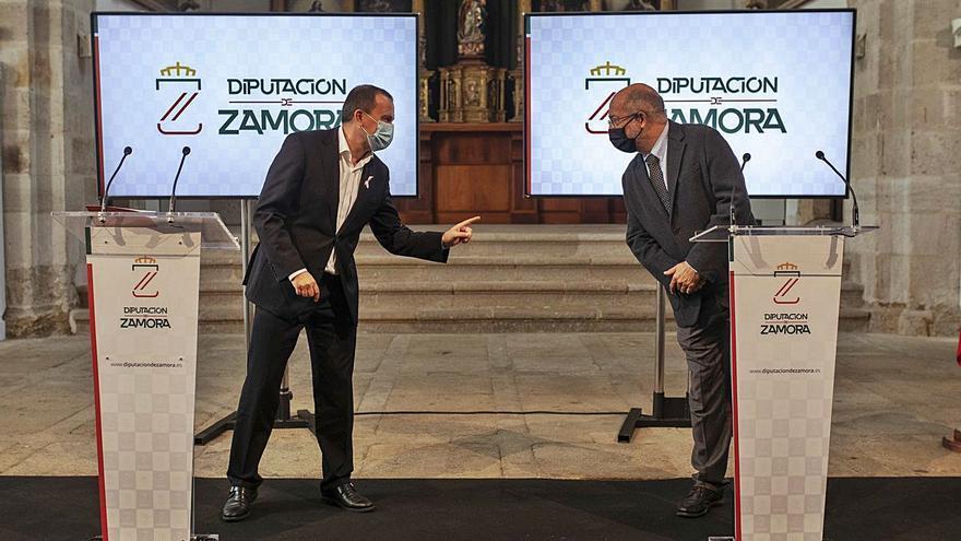 """Igea incide, en su visita a Zamora, en que las políticas contra la despoblación son """"urgentes"""" para España"""