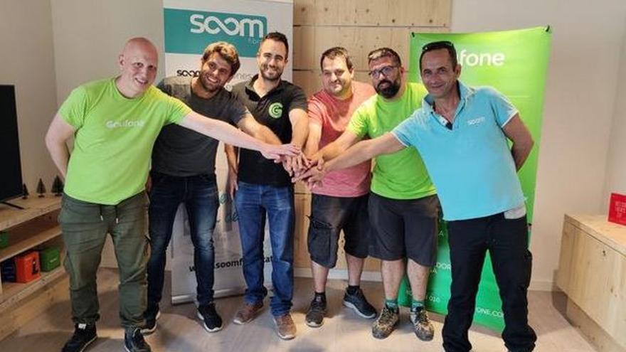 Les operadores Goufone i Soom Fibra uneixen esforços per donar cobertura a la Catalunya Central