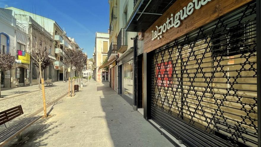 """Blanes engega un projecte per """"reactivar"""" 130 locals comercials buits"""