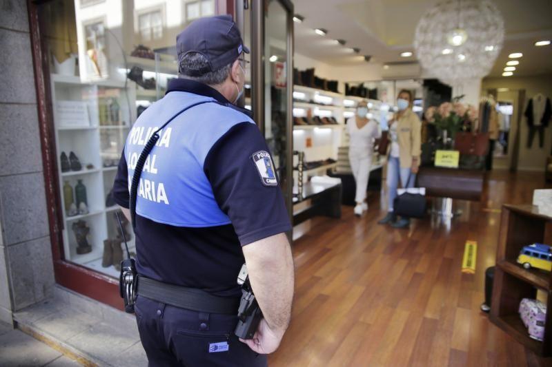 La Policía Local de La Laguna realiza controles Covid