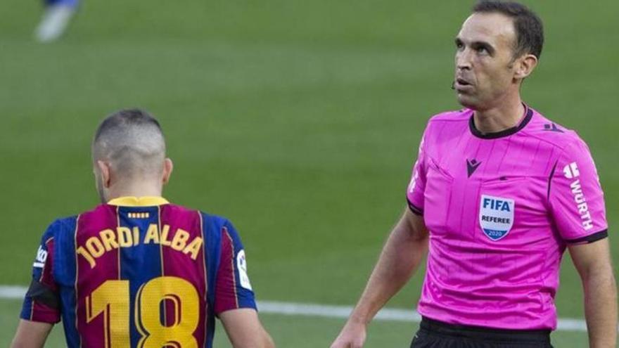 Cuadra Fernández, el árbitro del Córdoba CF-Real Sociedad de la Copa del Rey