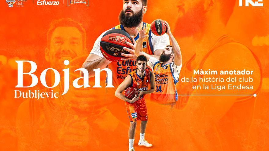 Bojan Dubljevic, el hombre de los récords 'taronja'