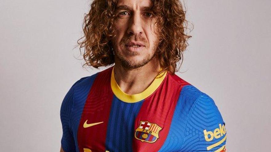 El Barça presenta la seva samarreta especial per al Clàssic