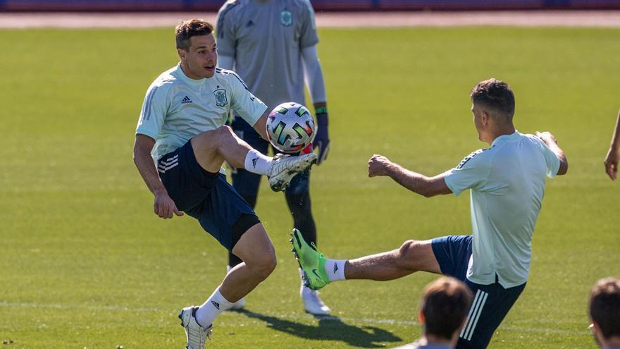La selección prepara su encuentro de semis contra Italia