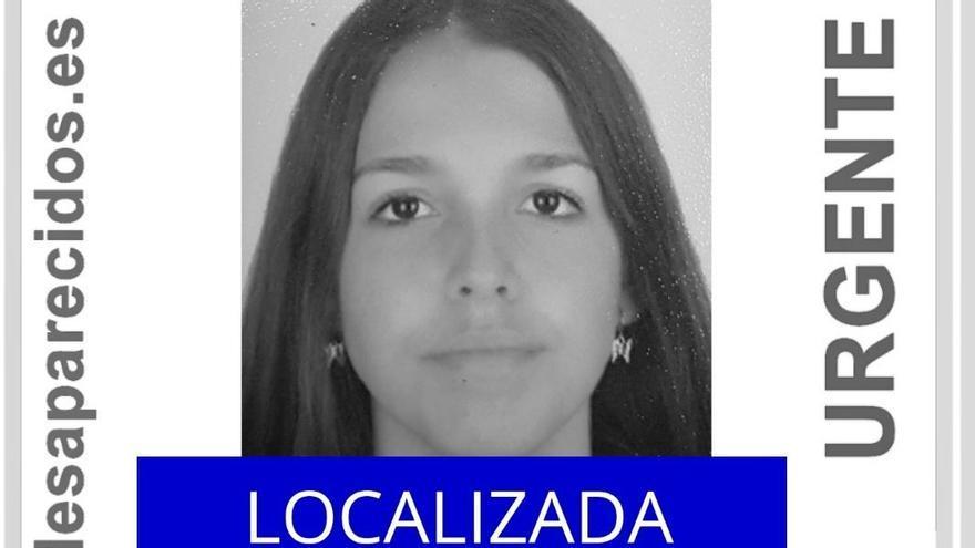 Localizan a la menor desaparecida en Granadilla