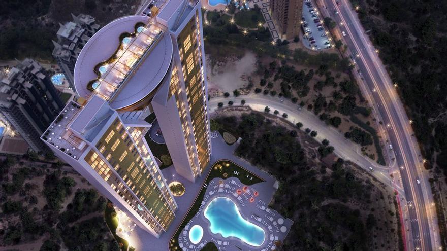 Lujo y exclusividad al alcance de pocos: así es el rascacielos 'Intempo Sky Resort'