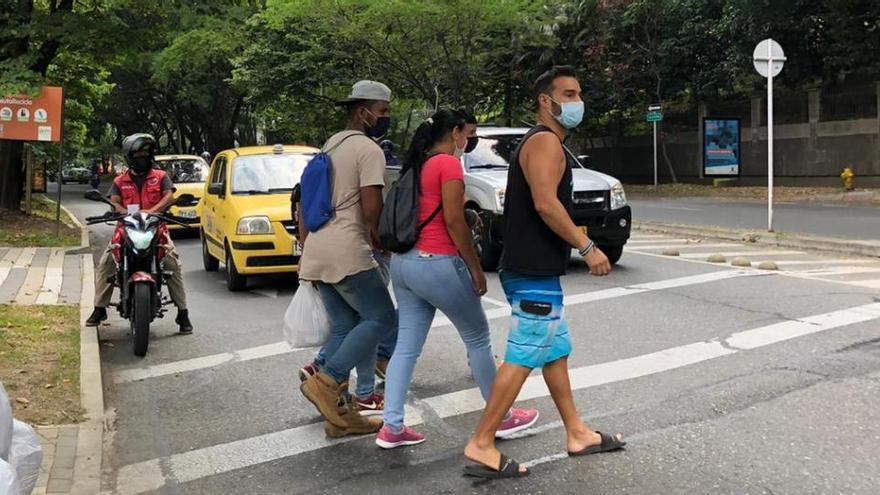 Cincuenta días atrapado en Medellín