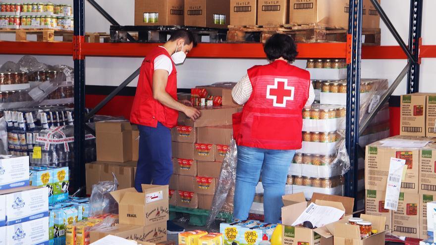 Cruz Roja Zamora reparte 13.000 kilos de alimentos entre familias vulnerables