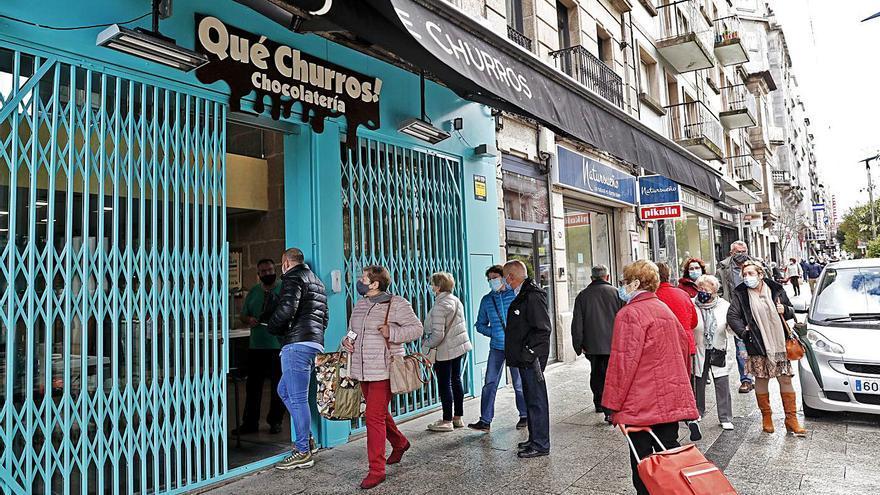 La churrería que abrió en Vigo cuando Galicia cerró