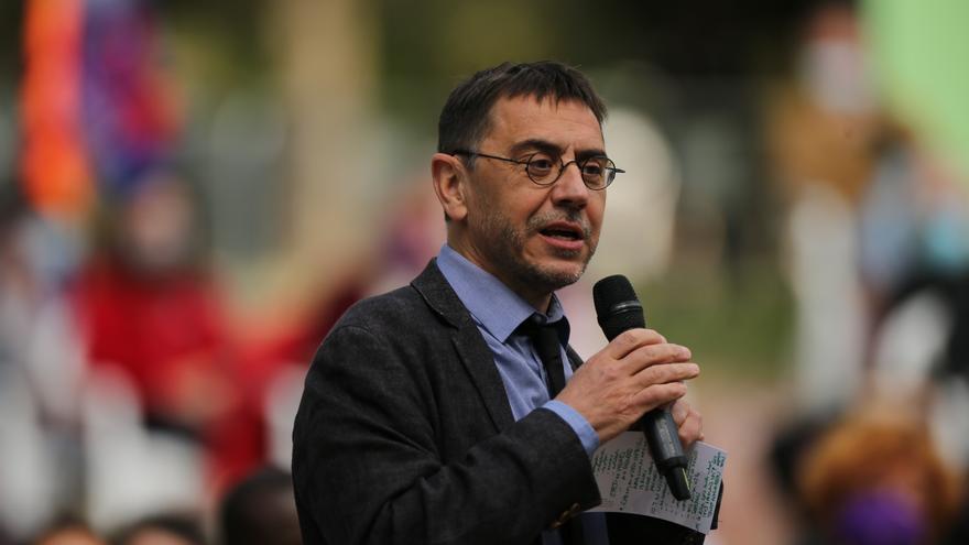 """Monedero dice que los que cobran el salario mínimo y optaron por Ayuso """"votan a su verdugo"""""""