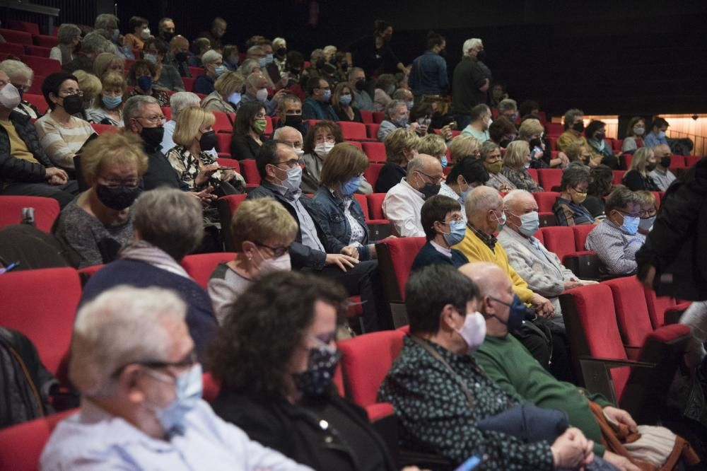 Concert de Manel Camp al teatre Kursaal de Manresa