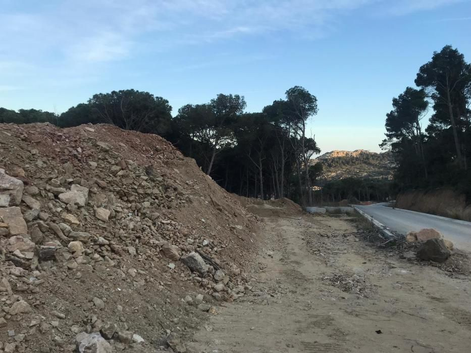 Denuncien l'Ajuntament de Begur per permetre la construcció d'habitatges en un espai protegit
