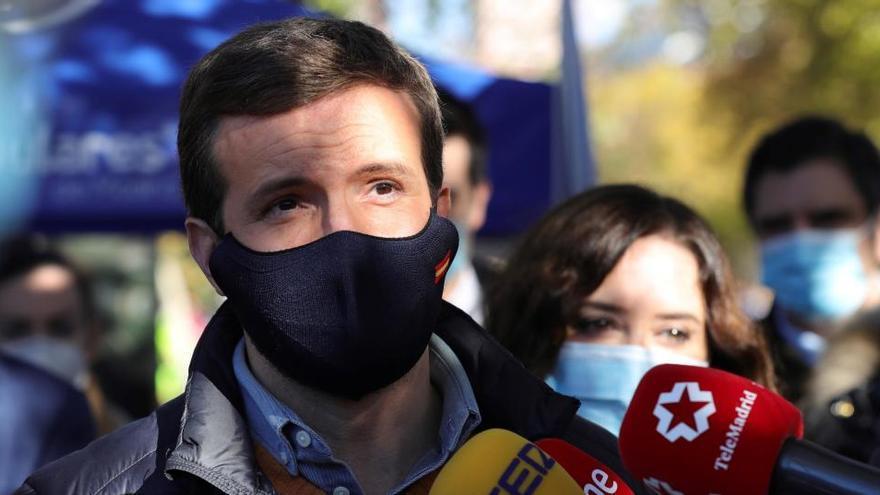 Casado carga contra Sánchez por el apoyo de EH Bildu