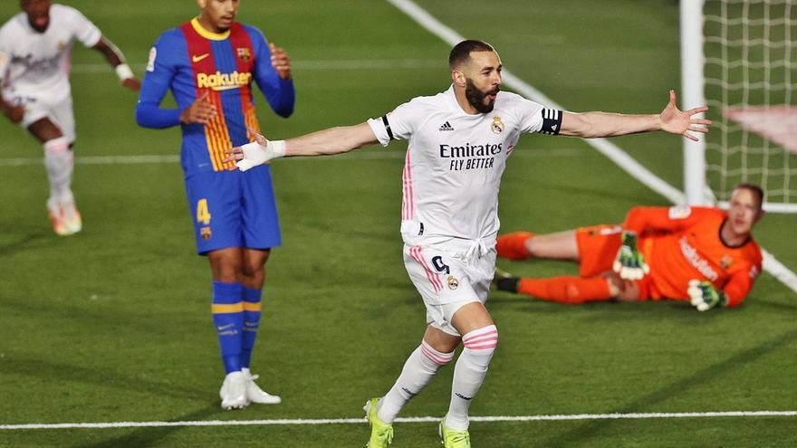 El Madrid gana el clásico y duerme líder