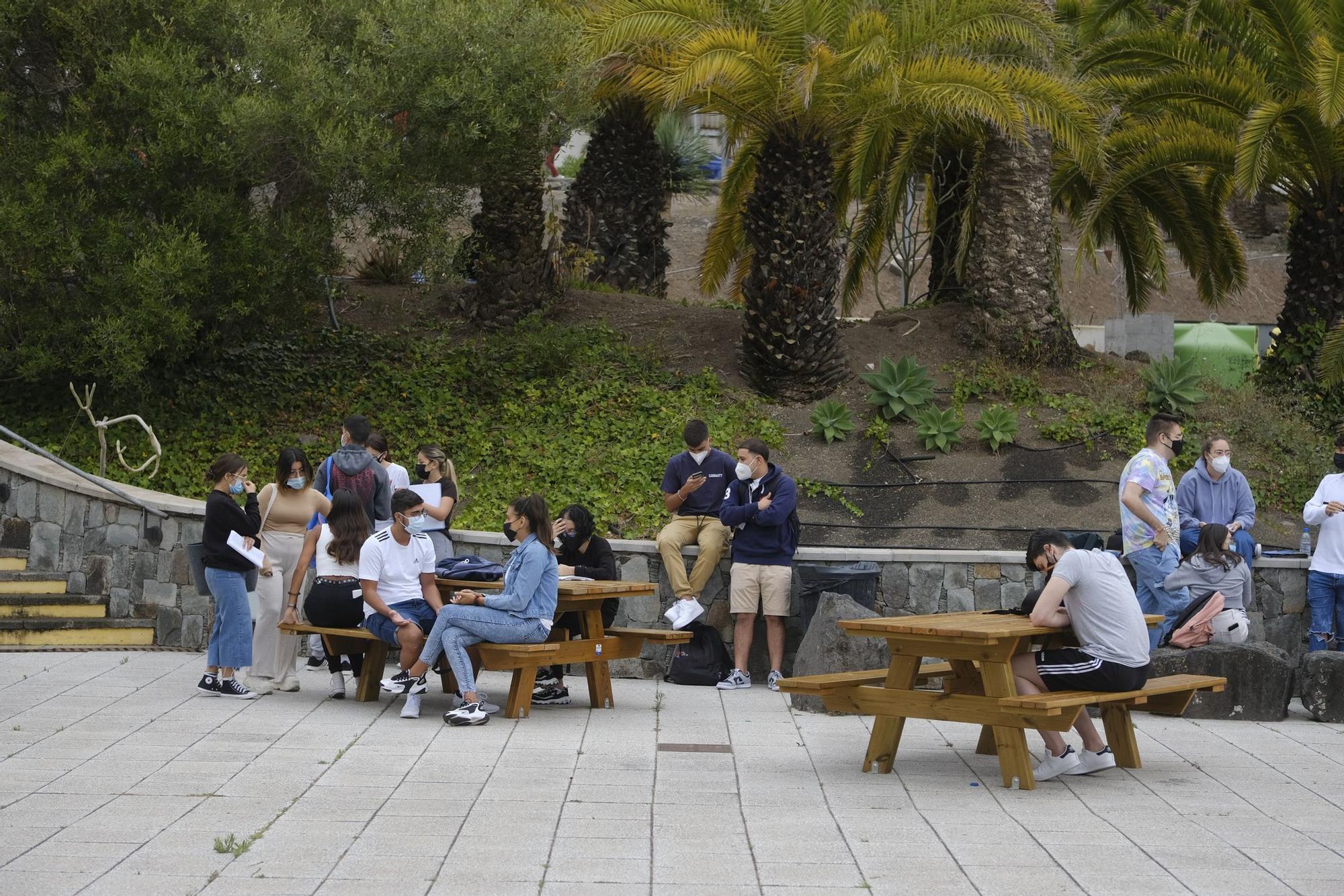 Prueba extraordinaria de la EBAU en Gran Canaria (07/07/2021)