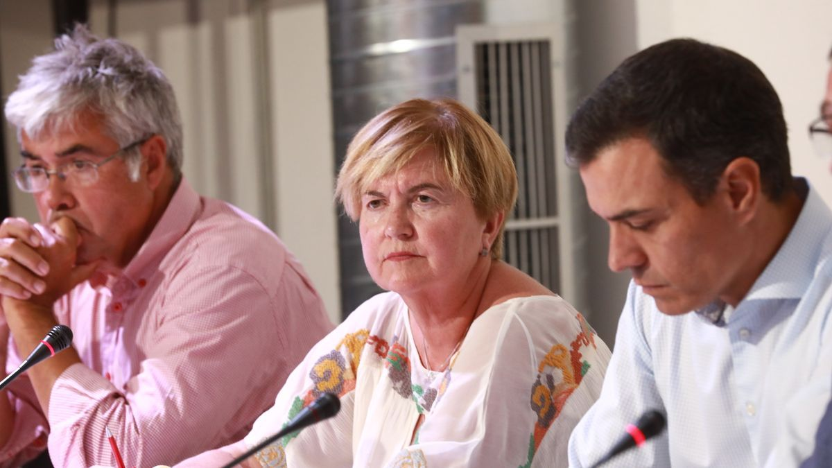 La presidenta de la Comisión de Política Territorial y Función Pública, Isaura Leal Fernández.