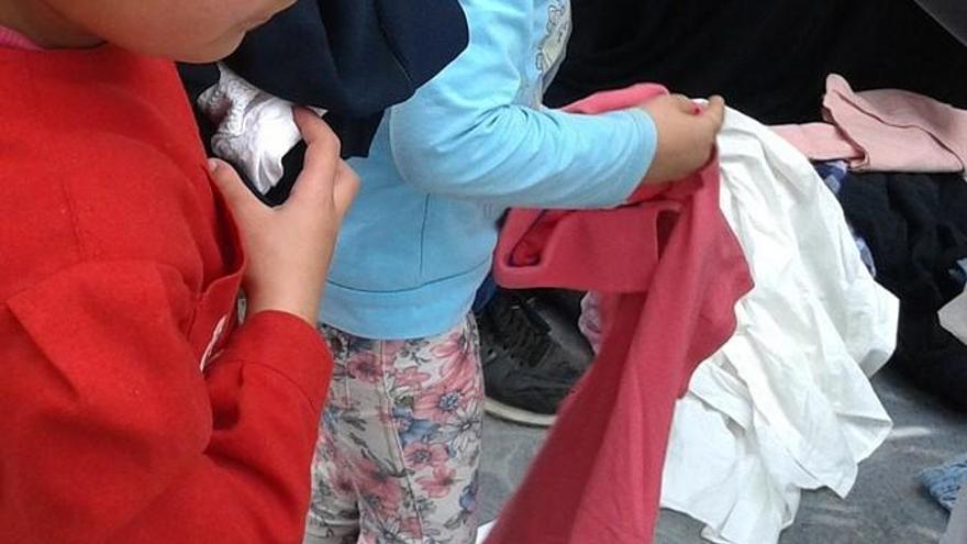 Castelló es mobilitza per recollir roba i material per a persones refugiades