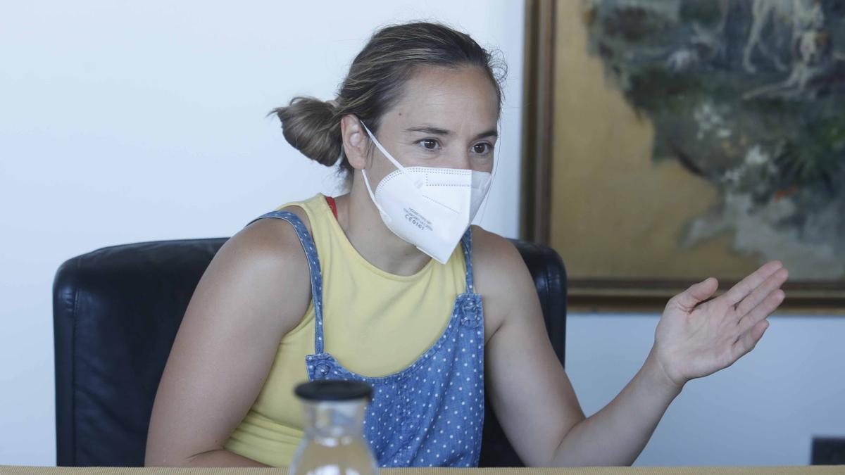 Laura Gómez, en la mesa de SomEsport