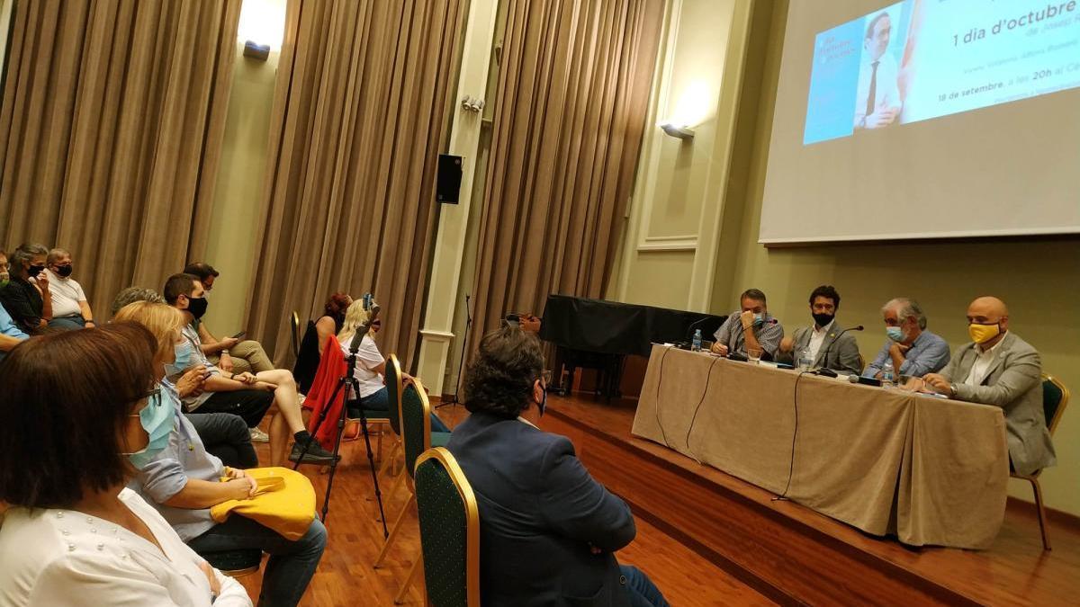 La presentació al Cercle Sport de Figueres.