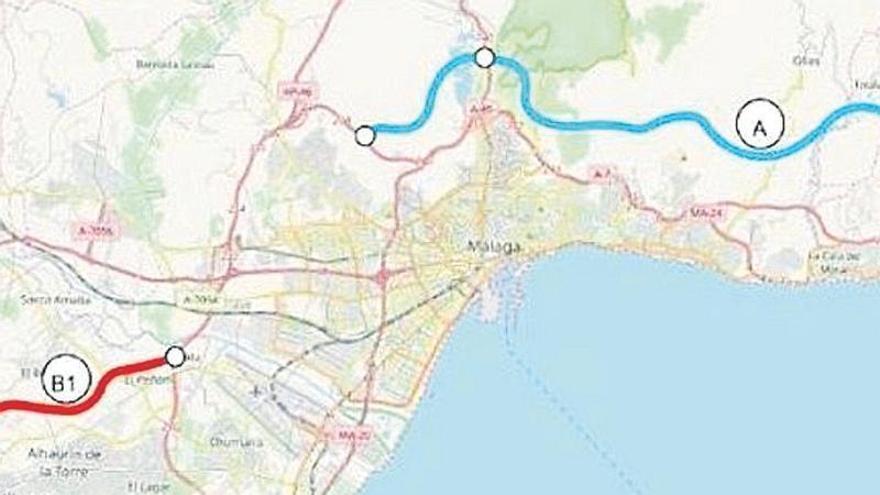 Málaga insta a reservar suelo a los pueblos por los que pasaría la nueva autovía Axarquía - Costa del Sol