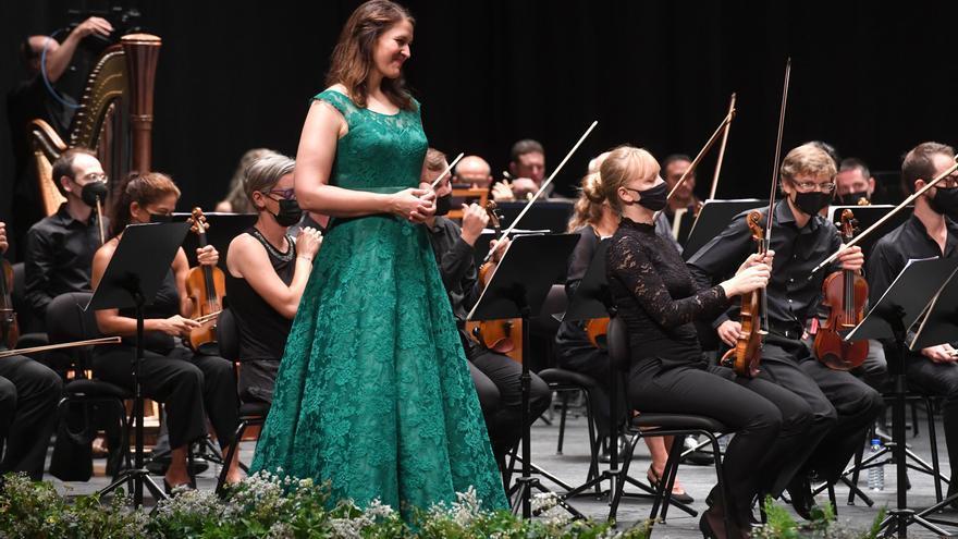 Ovación en A Coruña para la ganadora del International Opera Award